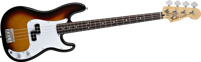 fender standard precision bass guitar the music complex ri. Black Bedroom Furniture Sets. Home Design Ideas
