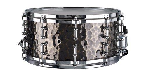 Ddrum Dios Hand-Hammered Bronze Snare Drum, 6.5x14