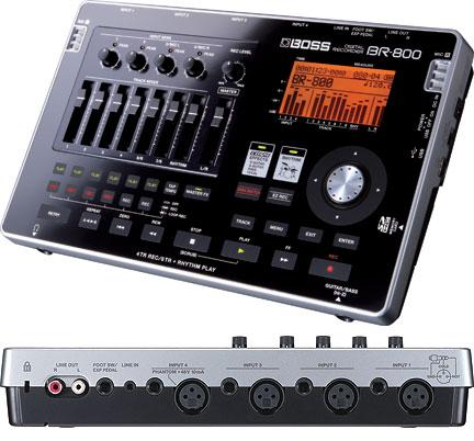 Boss BR-800: multi track Digital Recorder