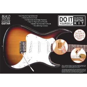 Do it yourself electric guitar kit (strat style)
