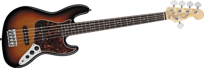 Fender 5-string American Standard  Jazz Bass