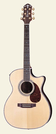 Crafter TC035 Acoustic Electric guitar