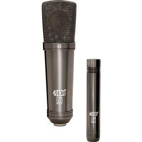 MXL Cr-24 Black Chrome Vocal & Instrument Microphone Kit