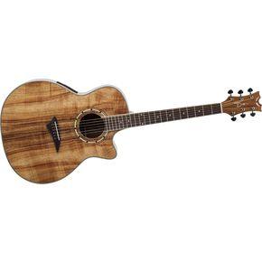 Dean Exotica Koa Cutaway Acoustic-Electric Guitar (Natural)