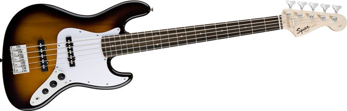 squier affinity jazz bass 5 string bass the music complex ri. Black Bedroom Furniture Sets. Home Design Ideas