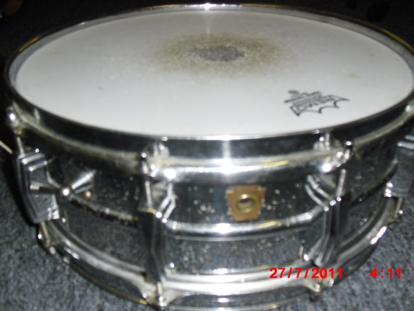 Ludwig 1964 Supraphonic Snare drum. Vintage