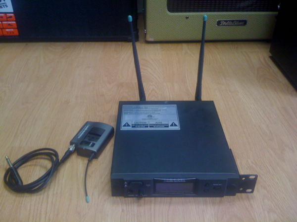 Audio Technica Wireless system for guitar