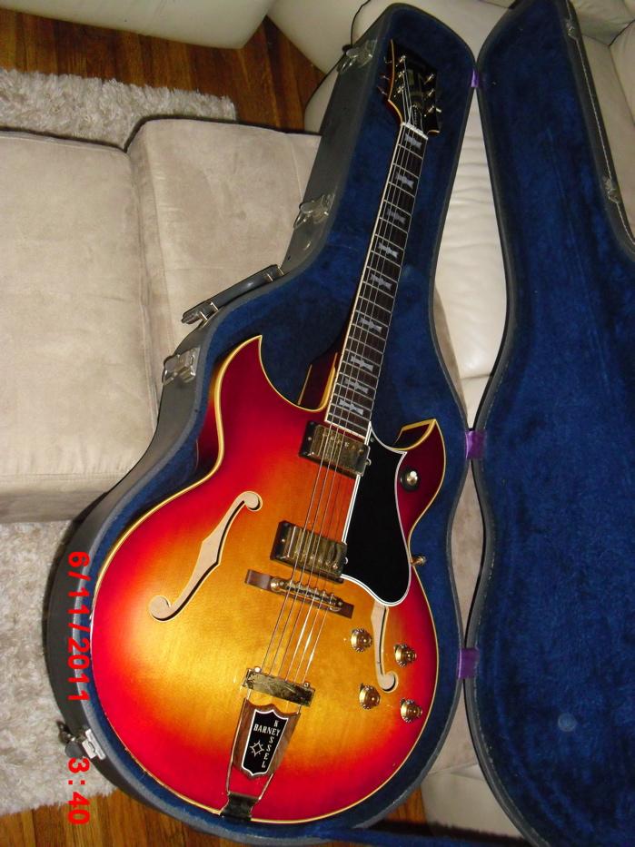 Gibson Barney Kessel 1963 vintage