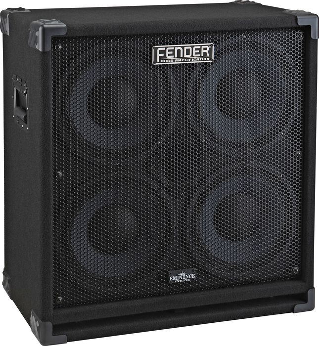 Fender Rumble 410 4×10 Bass Speaker Cabinet – The Music Complex RI