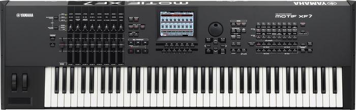 Yamaha MOTIF XF7 76 note Music Production Synthesizer