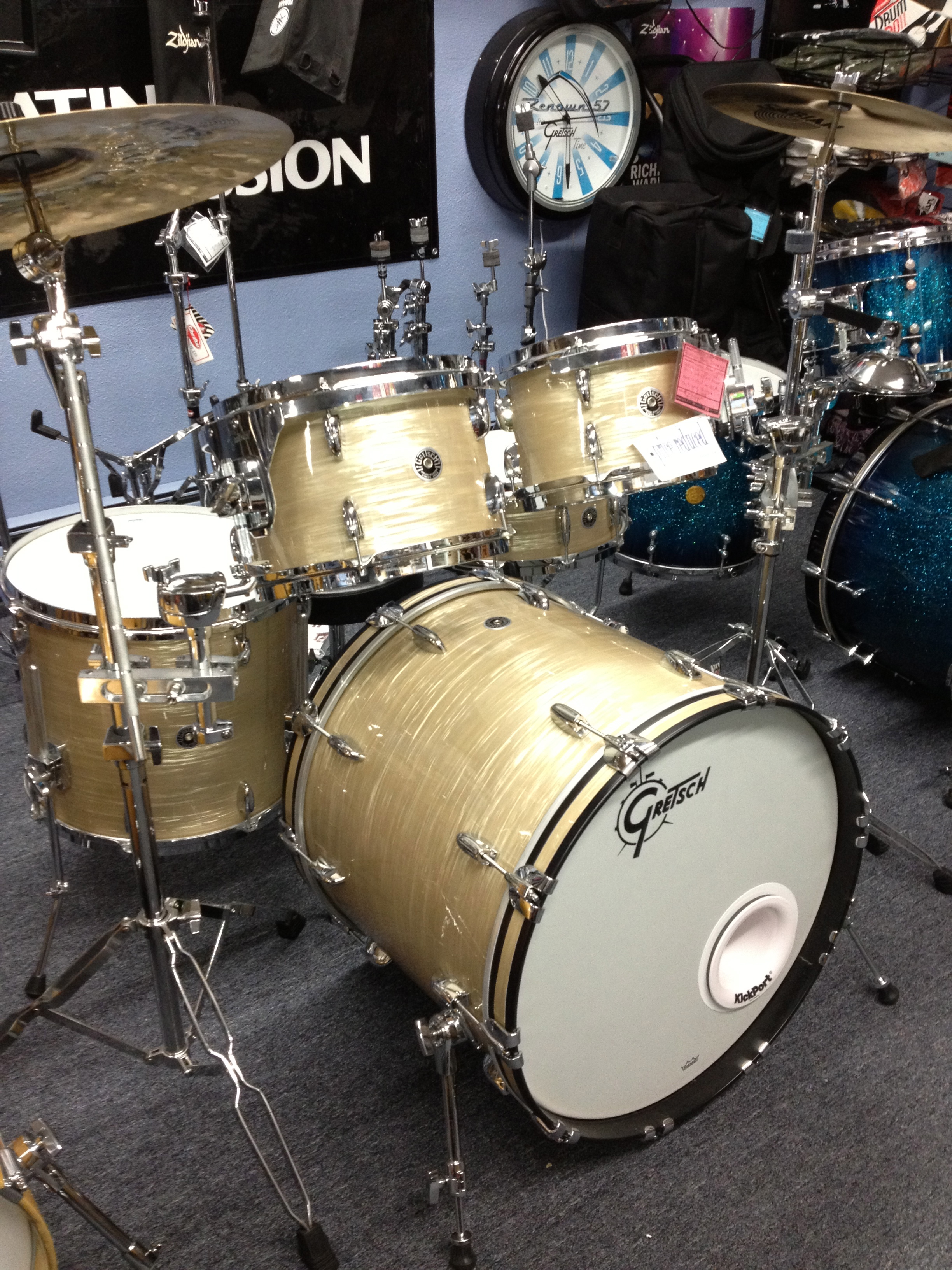 Gretsch USA Brooklyn 5-Piece Shell Pack.-New-Just reduced