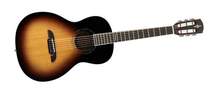 Alvarez Artist Series AP710SB Parlor Acoustic Guitar Sunburs