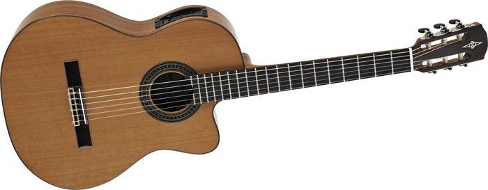Alvarez Artist Series AC65HCE Classical Hybrid Acoustic-Electric