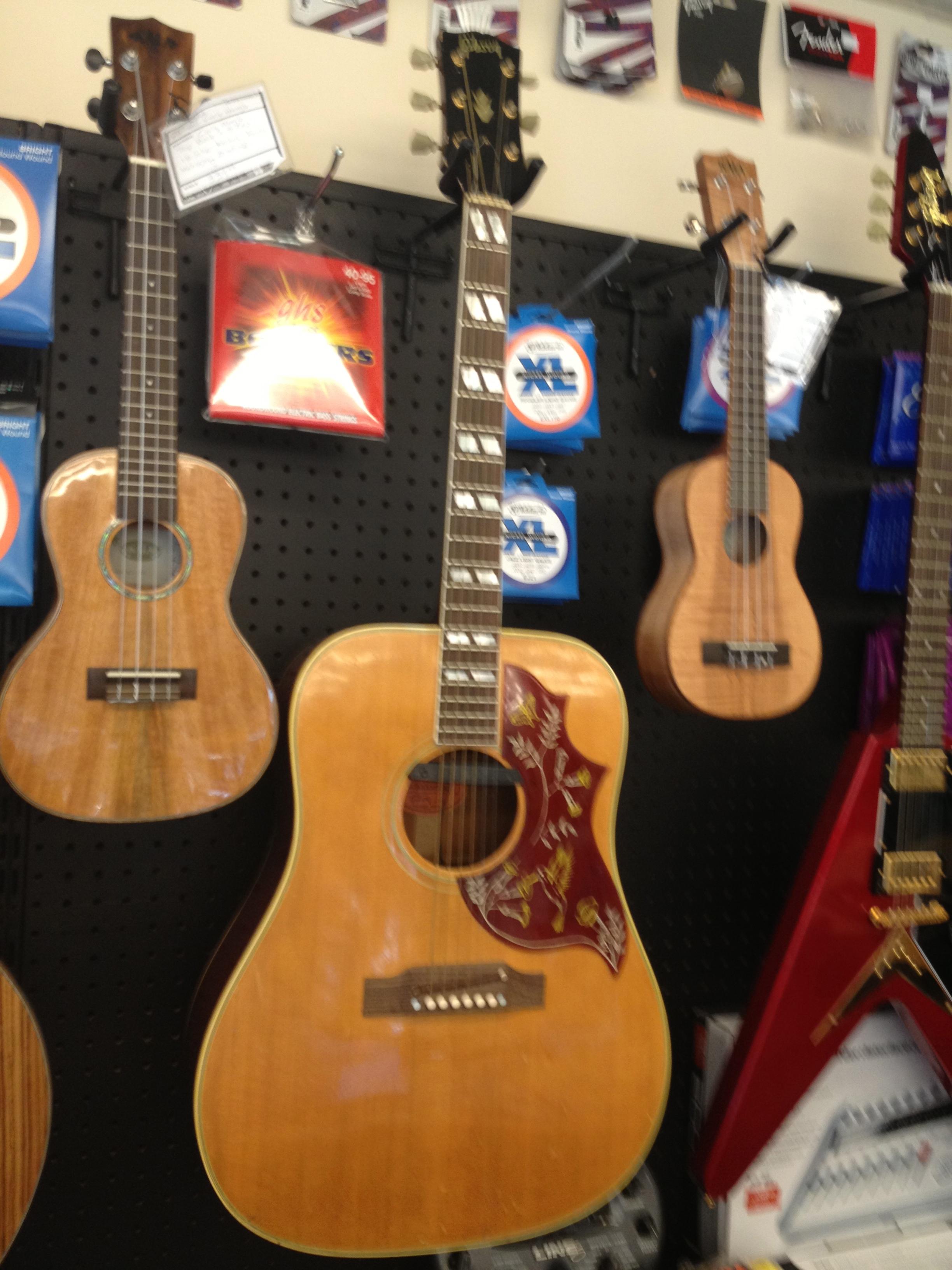 1967 Gibson Hummingbird acoustic guitar