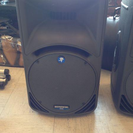 Mackie S300 passive speakers
