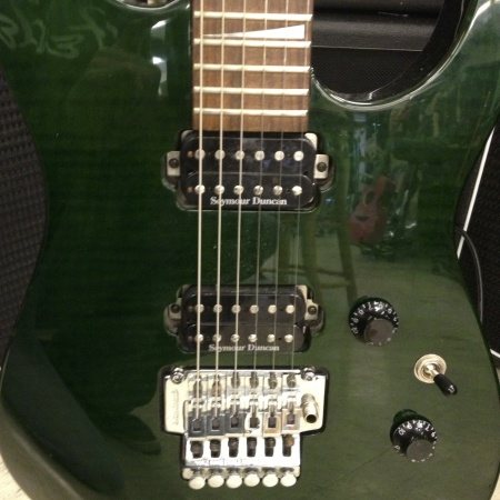 Jackson guitar w Floyd Rose Made in Japan