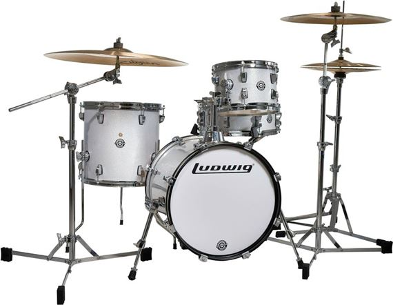 ludwig breakbeats questlove 4 piece shell kit drum set the music complex ri. Black Bedroom Furniture Sets. Home Design Ideas