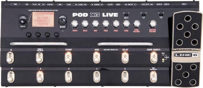 Line 6 Pod X3 Live : line 6 pod x3 live multi guitar pedal amp modeler the music complex ri ~ Russianpoet.info Haus und Dekorationen