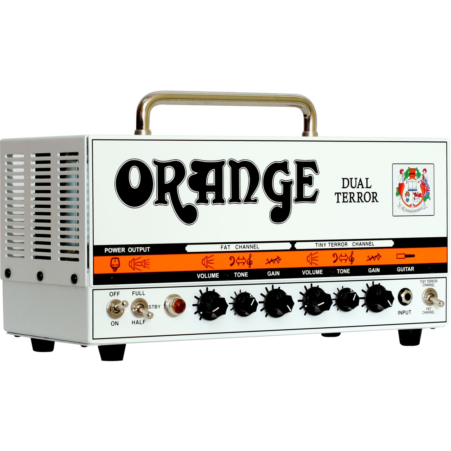orange amplifiers dual terror dt30h 30w tube guitar amp head the music complex ri. Black Bedroom Furniture Sets. Home Design Ideas