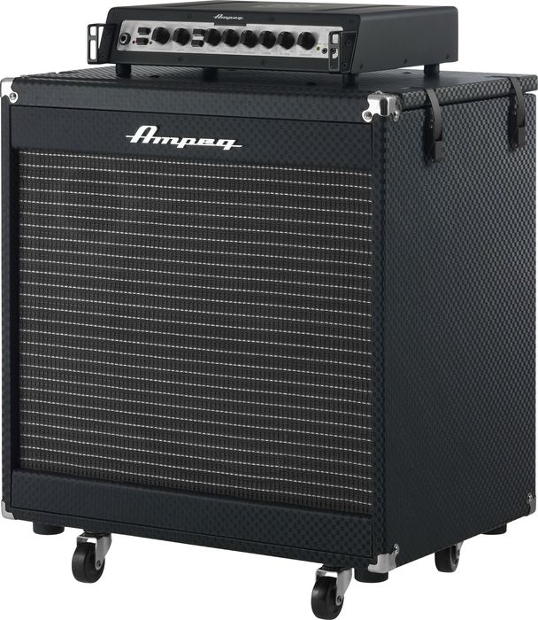 ampeg pf 500 portaflex and pf 115he stack the music complex ri. Black Bedroom Furniture Sets. Home Design Ideas
